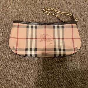 Burberry Checkered Wristlet
